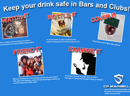 Keeping your drinks safe in the Costa del Sol