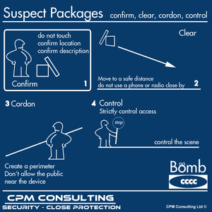 Suspect Package what to do when finding a bomb