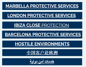 International security services london ibiza marbella