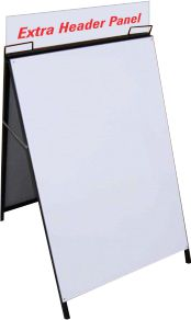 Steel A-Frame 600x900 Extra Header