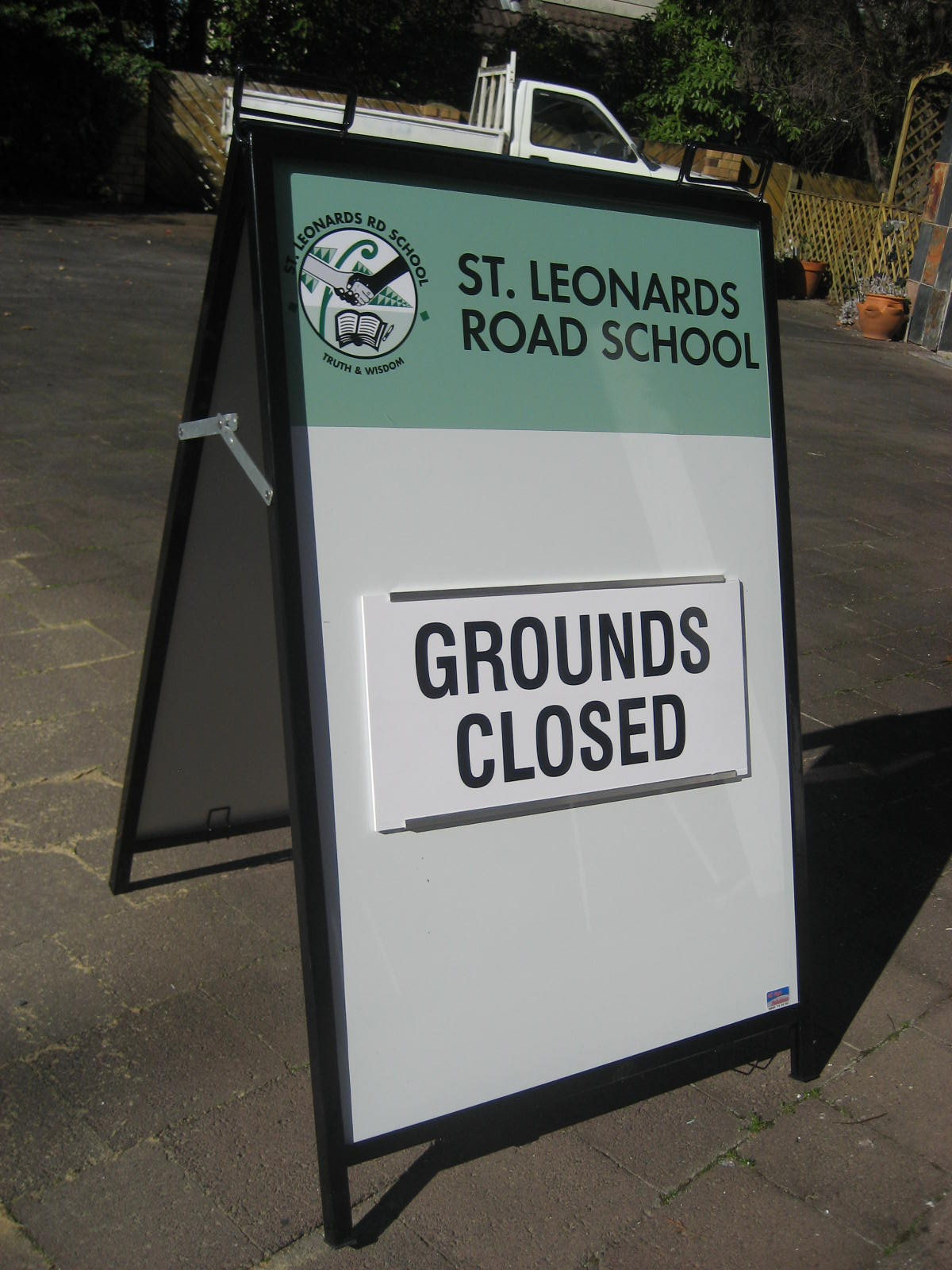 A Frame St Leonards School