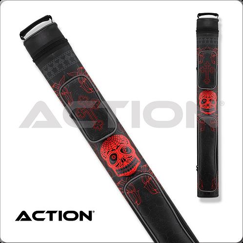 Action Calavera CALC22c 2x2 Stitch Hard Cue Case