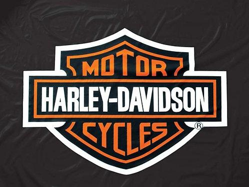 Harley Davidson HDTCV Vinyl 8 Foot Table Cover