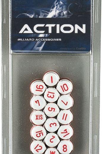 Action GAPBW Pill  White Balls