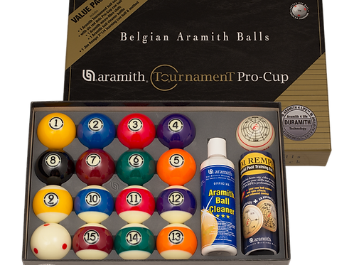 Aramith BBATVP Tournament Pro Cup Value Pack