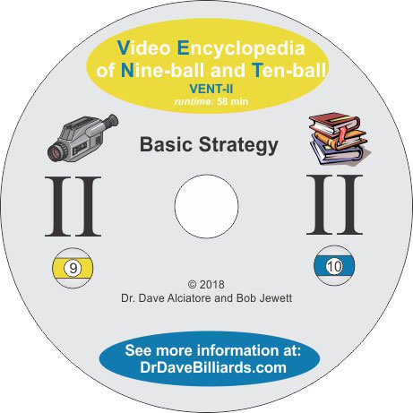 Dr. Dave's DVDVENT2 Video Encyclopedia of Nine-ball and Ten-Ball