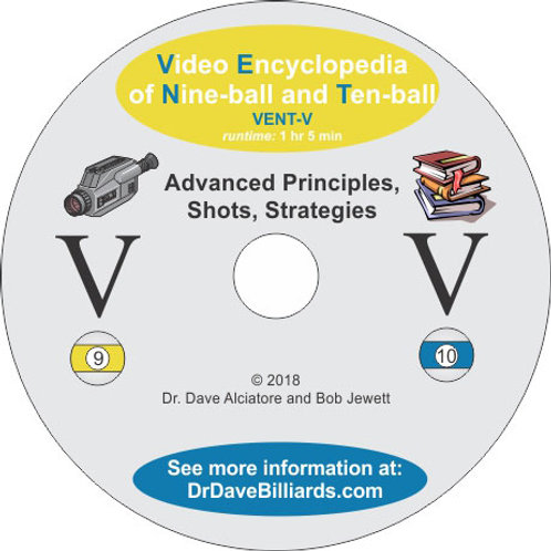 Dr. Dave's DVDVENT5 Video Encyclopedia of Nine-ball and Ten-Ball