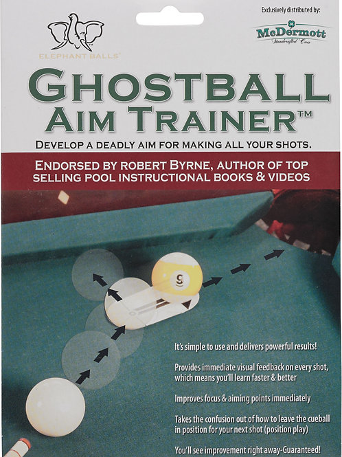 McDermott IPGAT Ghost Ball Aim Trainer