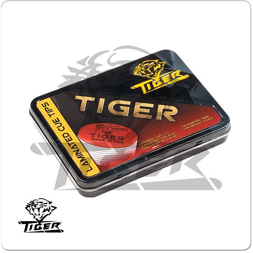 Tiger Laminated QTTLT12 Soft Cue Tips (12)