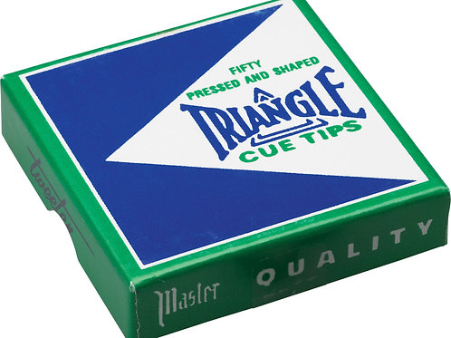 Triangle QTTRIA50 Pool Cue Tip - Box of 50