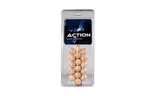 Action GAPWB Wooden  Pill Set