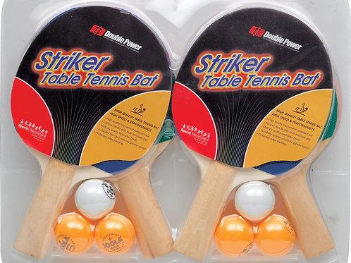 Action PP54665W Ping Pong Paddles & Balls