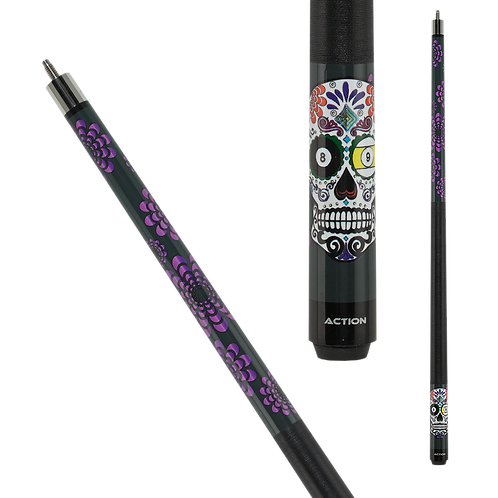 Action CAL03 Calavera Pool Cue