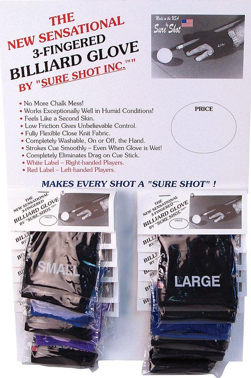 Sure Shot BGLSS12 - 12ct Display - Assorted