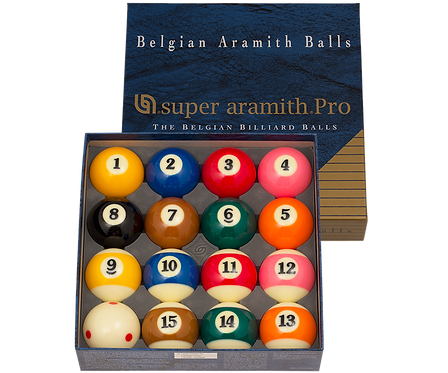 Super Aramith BBSAPTV Pro TV Ball Set