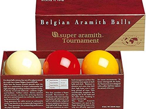 Super Aramith Tournament Carom Pool Ball Set