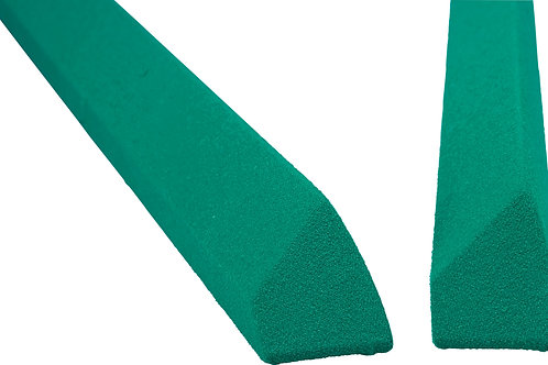 Valley Rails for New Coin-Op Tables - Covered in Tournament Green Cloth