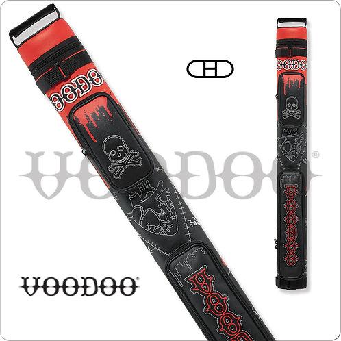 Voodoo VODC22A 2x2 Stitch Voodoo Hard Pool Cue Case