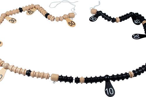 Action GAWSB Wooden Scoring Beads