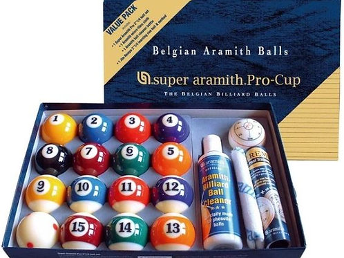 Super Aramith Pro Cup Advantage Pack