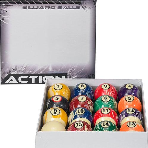 Action BBWM White Marble Ball Set