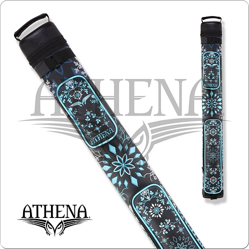Athena ATHC12 2x2 Flower Stitch Hard Pool Cue Case