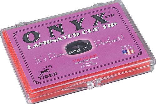 Tiger QTTON12 Onyx Pool Cue Tip - Box of 12
