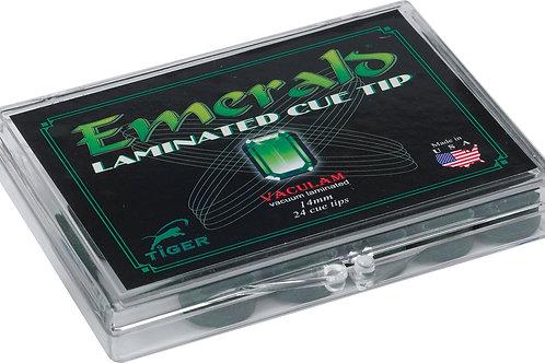 Tiger QTTEM12 Emerald Pool Cue Tips - Box of 12