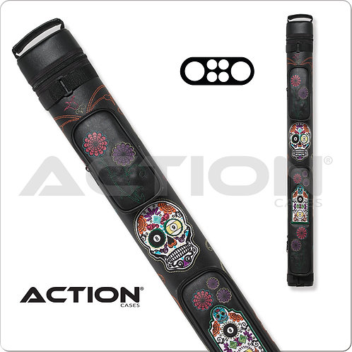 Action Calavera CALC22B 2x2 Stitch Hard Cue Case