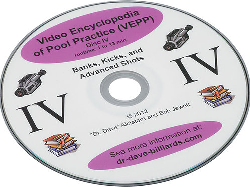 Dr. Dave's DVDEPP4 Pool Practive - Volume 4