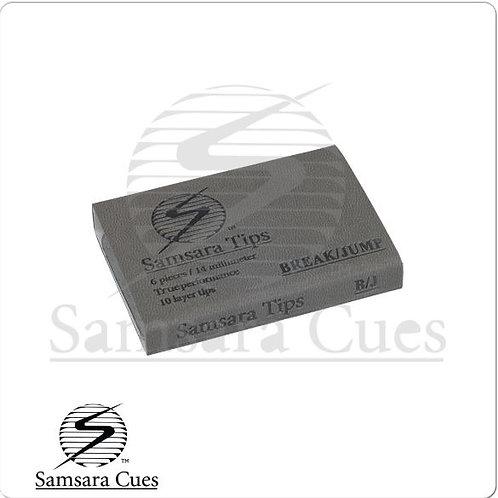 Samsara QTSAMJB6 Jump Break Pool Cue Tips - Box of 6