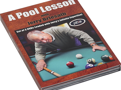 Briesath DVDJB A Pool Lesson w/ Jerry Briesath