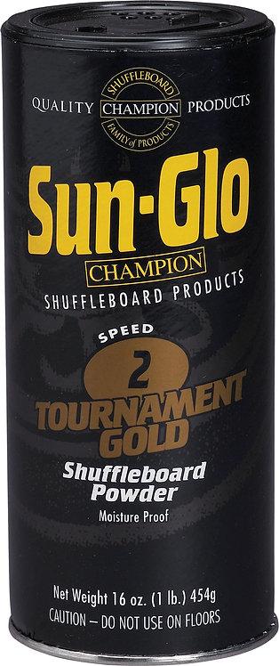 Sun-Glo SHBHG2 Shuffleboard Powder - 16oz, Speed 2