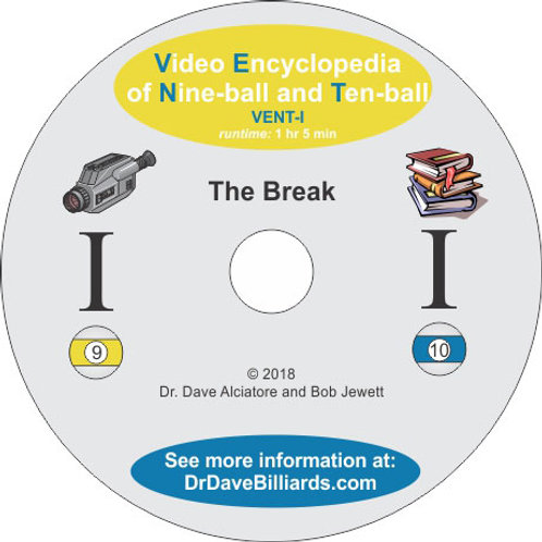 Dr. Dave's DVDVENT1 Video Encyclopedia of Nine-ball and Ten-Ball