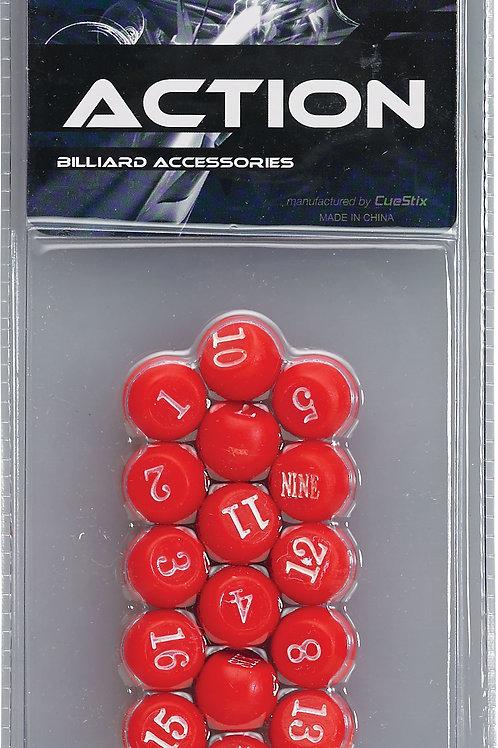 Action GAPBR Pill  Red Balls