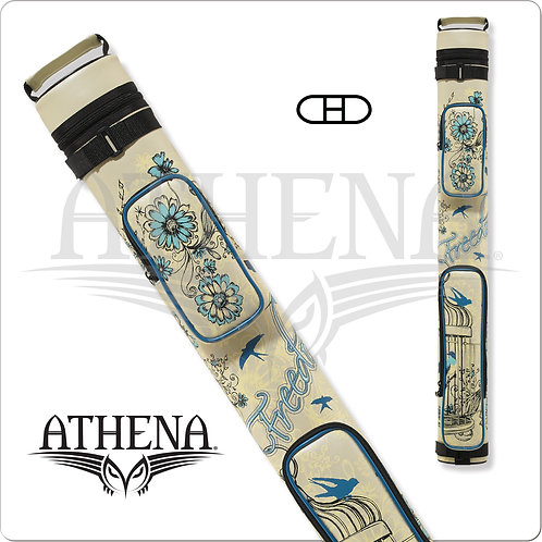 Athena ATHC10 2x2 Hard Embroidered Cue Case