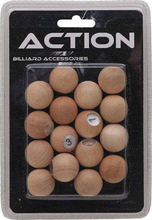 Action GAPWP Wooden Scoring Pill Set Blister Pack