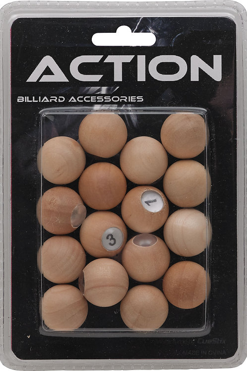Action GAPWP Wooden Scoring Pill Set Blister Pack
