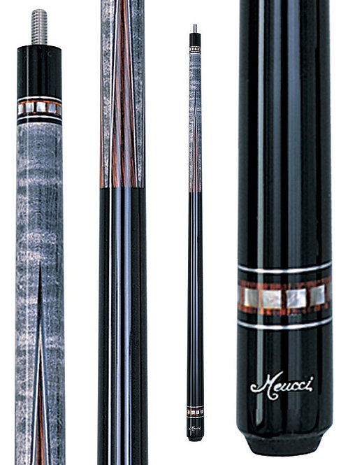 Meucci MEF01 Black Dot Pool Cue