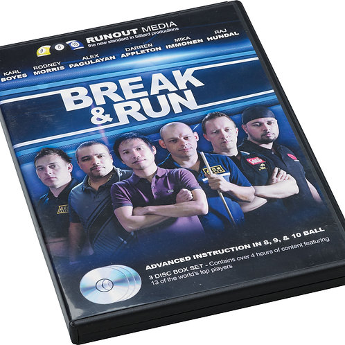 Break & Run DVDBR 3 DVD Set