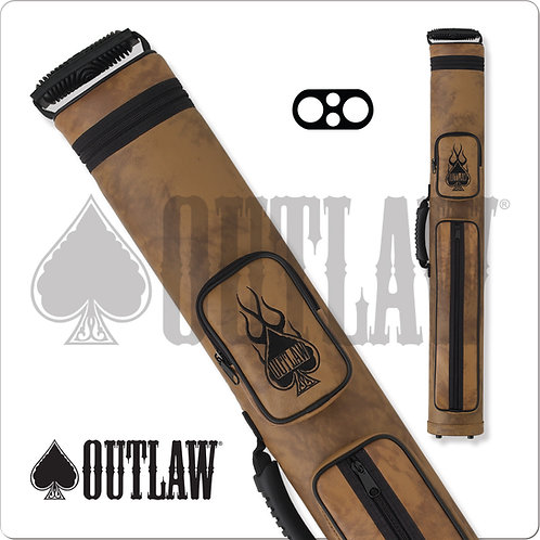 Outlaw OLH22 2x2 Hard Pool Cue Case