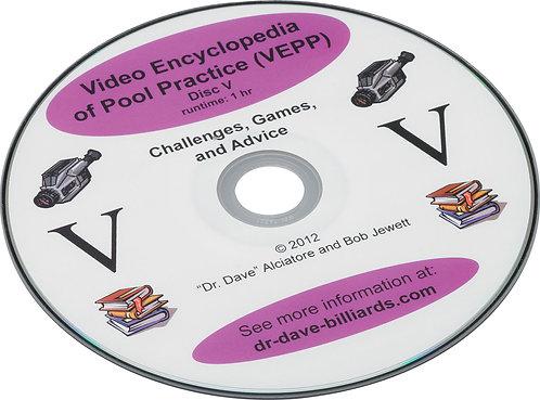 Dr. Dave's DVDEPP5 Pool Practive - Volume 5