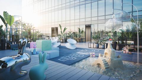 Marketing images for real estate developer Endover