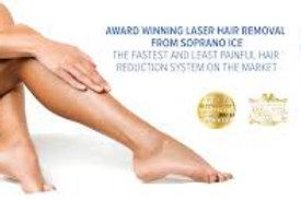 6 Sessions of Full Legs Laser
