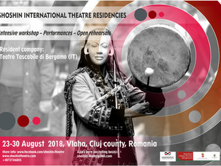 SHOSHIN INTERNATIONAL THEATRE RESIDENCIES, 23-29 August 2018