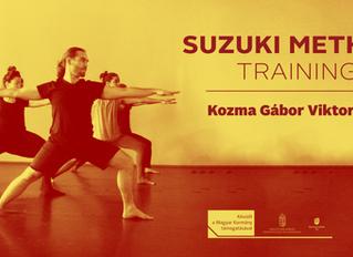 Suzuki Method Actor Training, 7-9th June, 2018