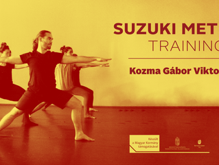 Suzuki Method Actor Training, 7-9th June, 2018