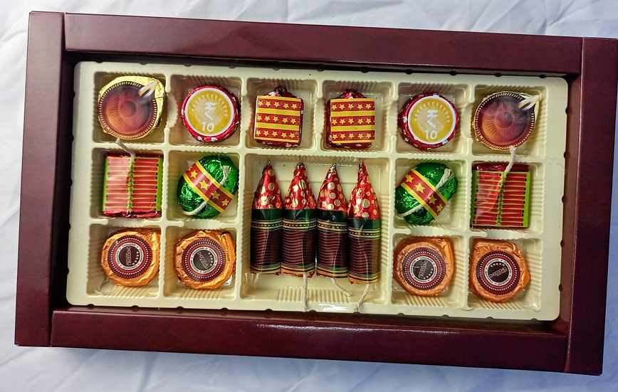 DIWALI SPECIAL CHOCOLATE CRACKERS BY CHOCOCHILL
