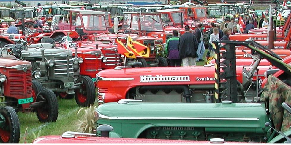 10. Int. Oldtimer-Traktorentreffen Möriken