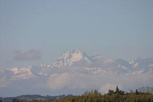 Domaine La Barbe, zicht op de Pic du Midi